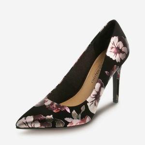 Floral Christian Siriano Heels NWT